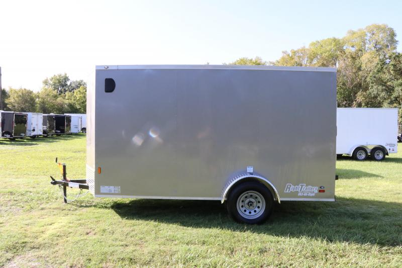 6X12 Continental Cargo Enclosed Trailer