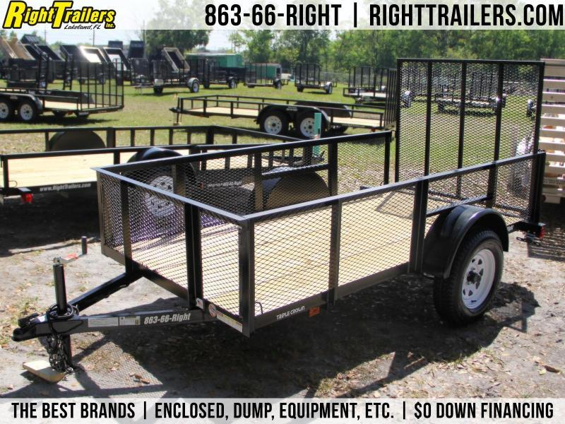 5x10 Red Hot Trailers | Utility Trailer [2' Mesh Sides]