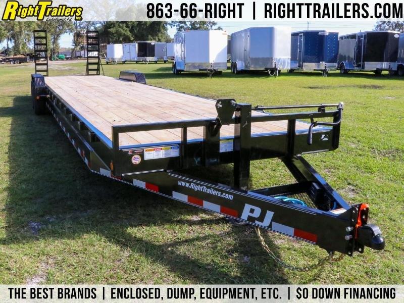 7x36 PJ Trailers   Car / Equipment Trailer