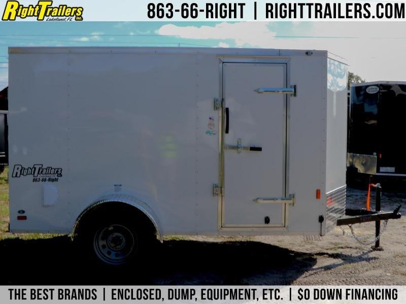 5X10 Continental Cargo I Enclosed Cargo Trailer