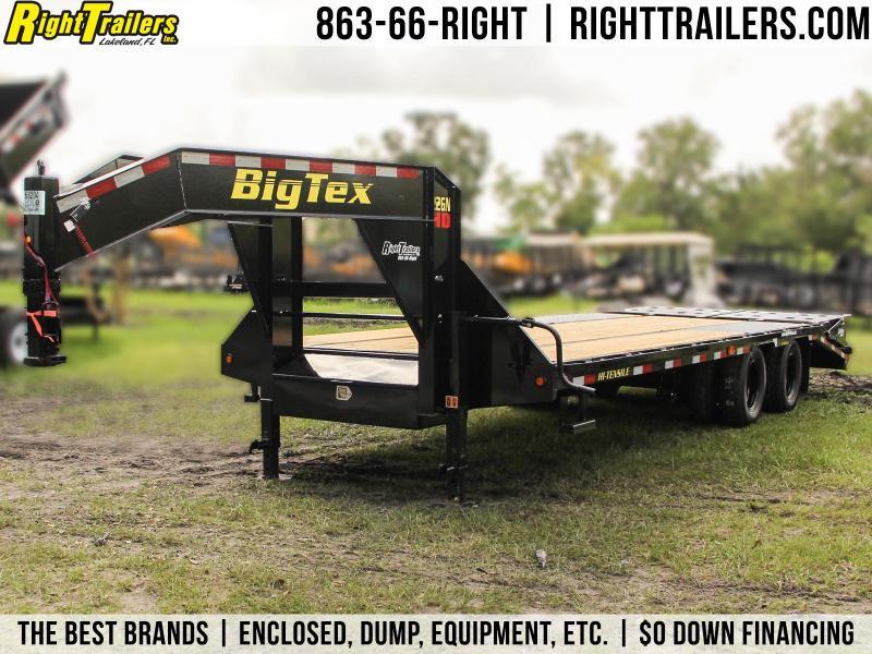 8.5x25 Big Tex | Equipment Trailer