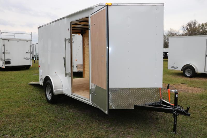 6x12 Cargo Craft Enclosed Trailer