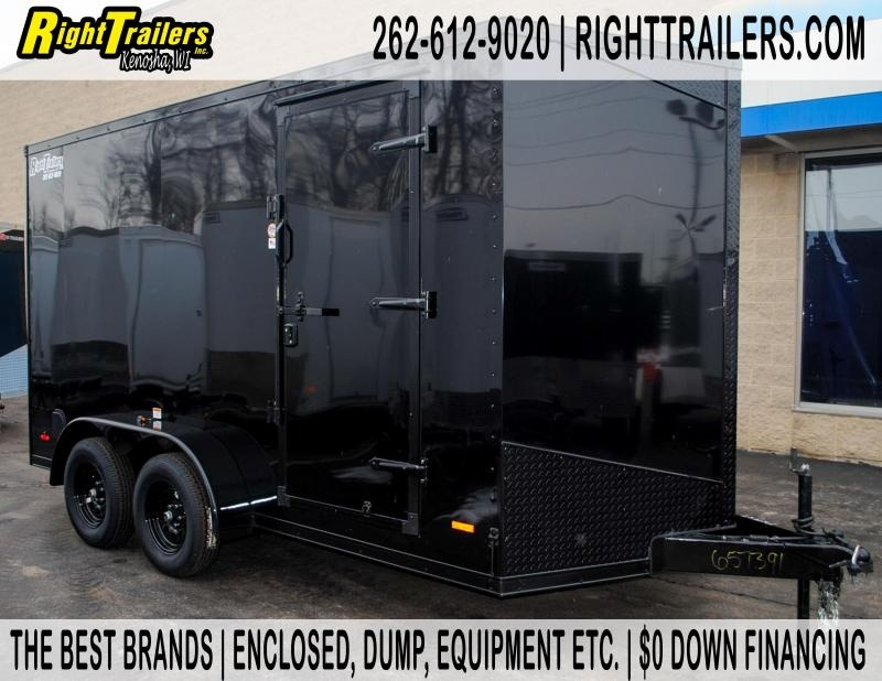7X14 RC Trailer I  Enclosed Cargo Trailers
