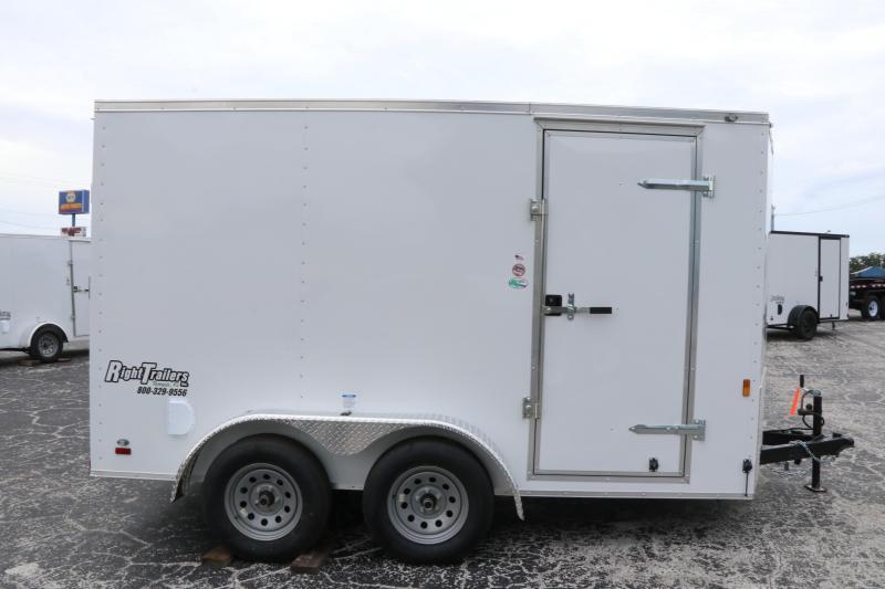 7x12 Continental Cargo | Enclosed Trailer