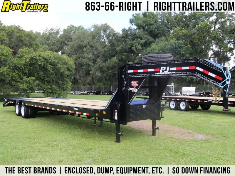 8.5x36 PJ Trailers | Deckover Equipment Trailer