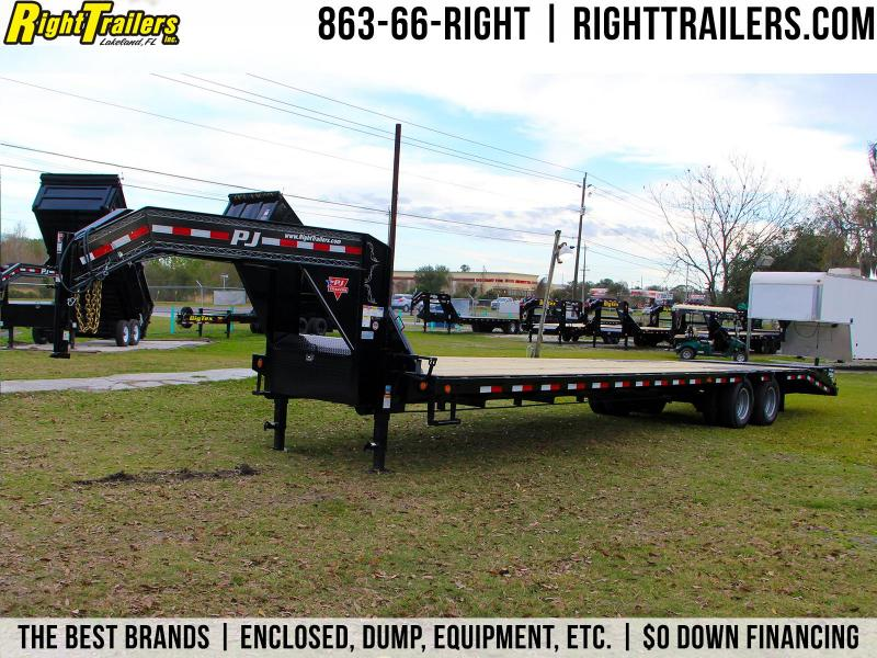 8.5x35 PJ Trailers | Equipment Trailer [Gooseneck]