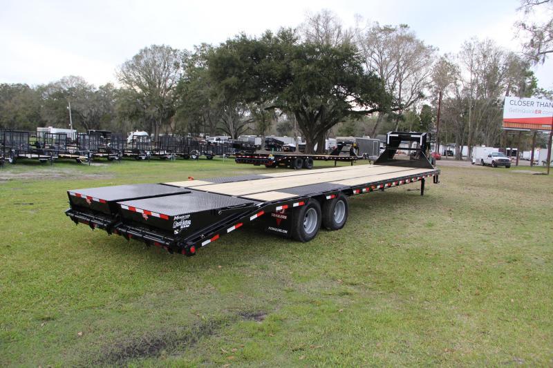 8.5x35 PJ Trailers   Equipment Trailer [Gooseneck]