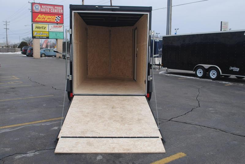 6x12 Impact Trailers | Enclosed Trailer