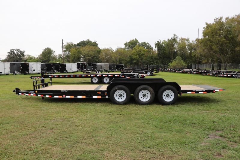 7x24 PJ Trailers | Tilt Deck Equipment Trailer