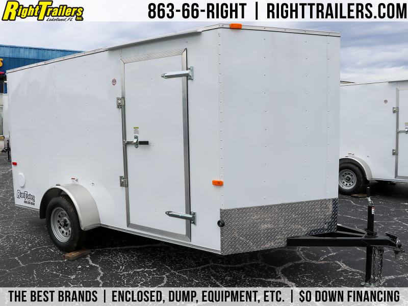 6X12 Cargo Craft | Enclosed Cargo Trailer