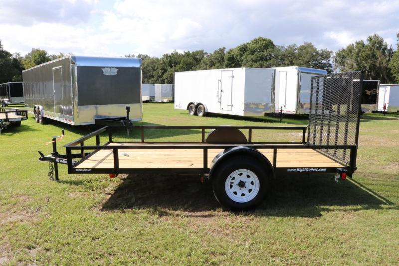 6x12 Red Hot Trailers |Utility Trailer