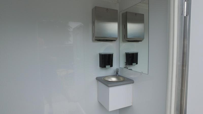 4-Station Restroom Trailer