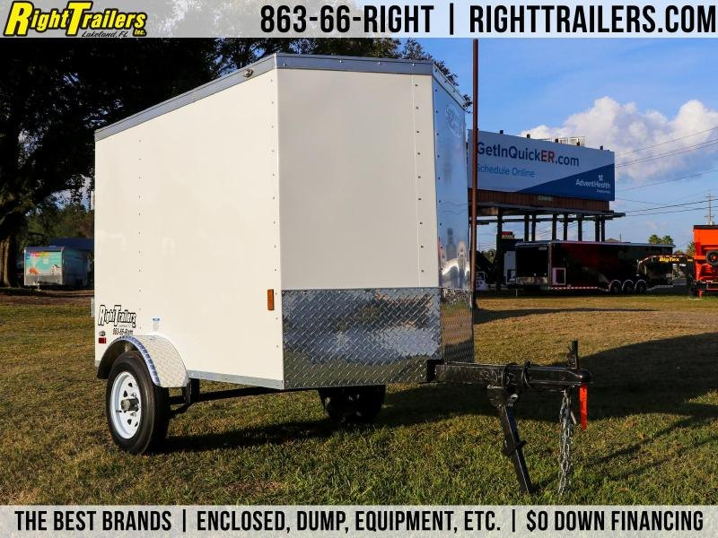 4x6 Continental Cargo | Enclosed Trailer