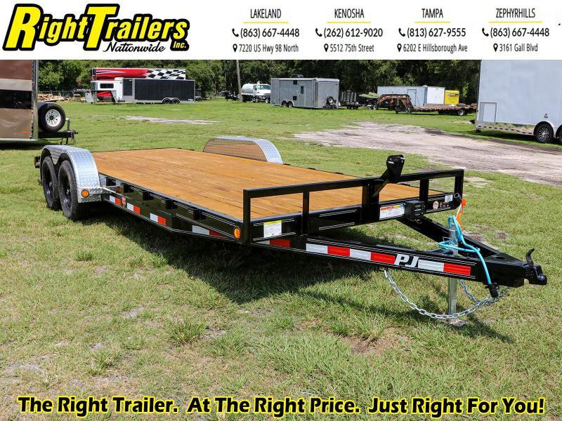 7X20 PJ Trailers C5 Equipment Trailer