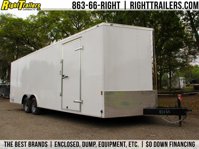 8.5x24 Continental Cargo | Enclosed Car Trailer