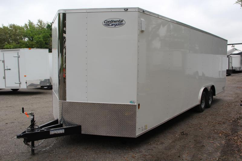 8.5x24 Continental Cargo | Enclosed Car Trailer