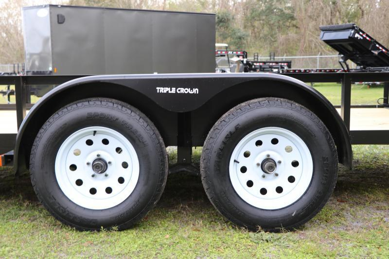 7X16 Red Hot ATV Trailer