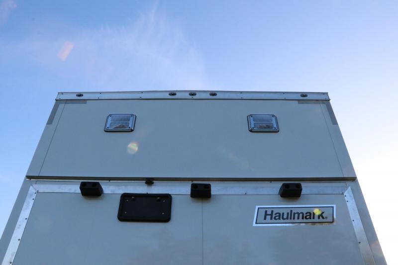 8.5X28 Haulmark Stacker I Enclosed Racing Trailer