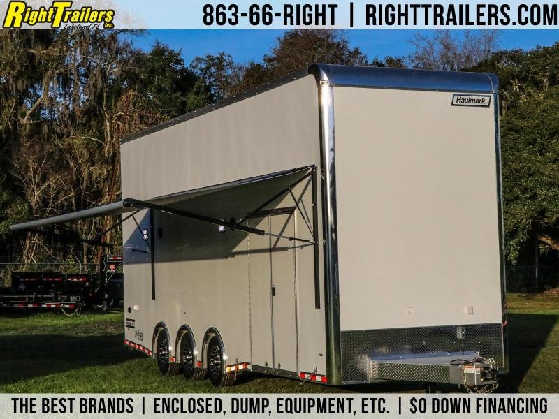 8.5X28 Haulmark Stacker I Enclosed Racing Trailer
