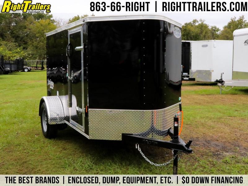 5x8 Continental Cargo | Enclosed Trailer