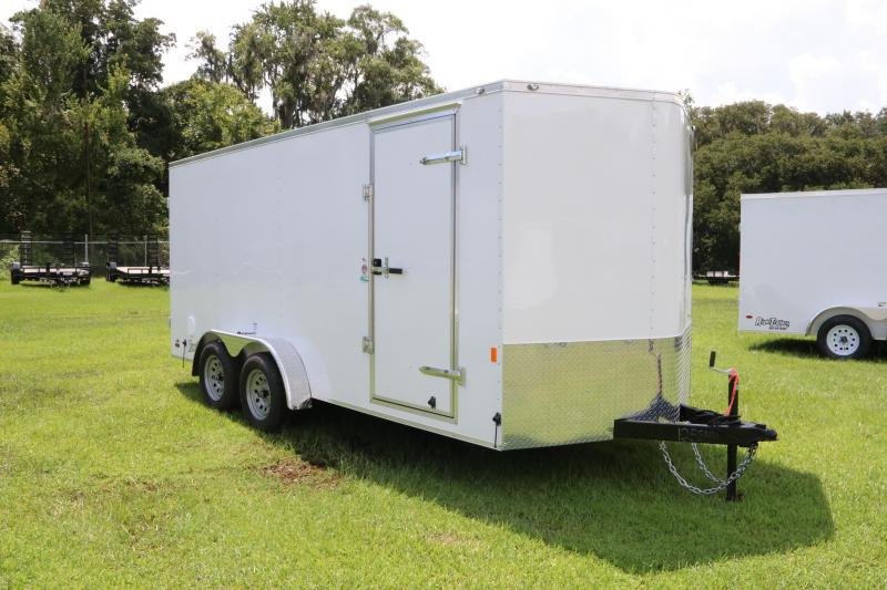 7x16 Continental Cargo | Enclosed Trailer