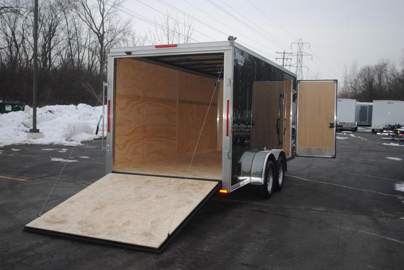 7X16 RC Trailers I Enclosed Cargo Trailer