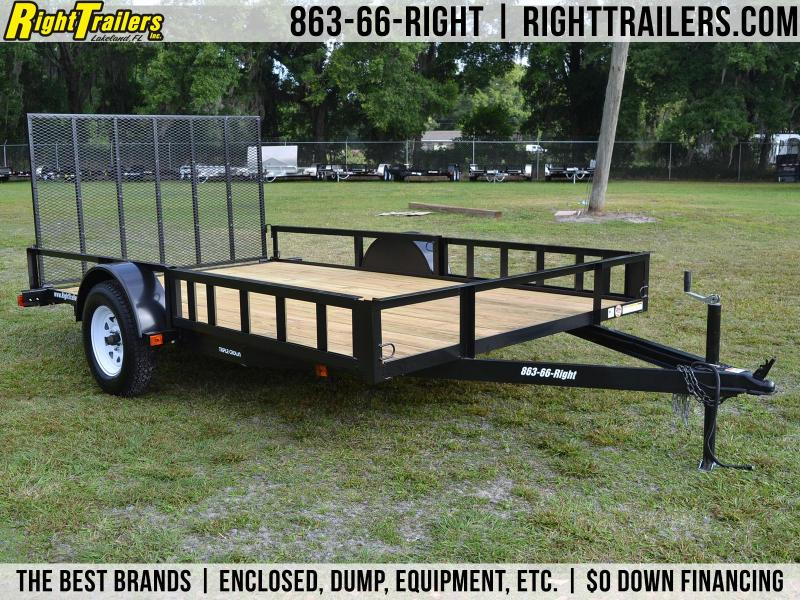 7x12 Red Hot | ATV Utility Trailer