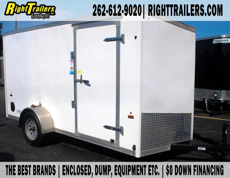 6X12 Forest River I Enclosed Trailer