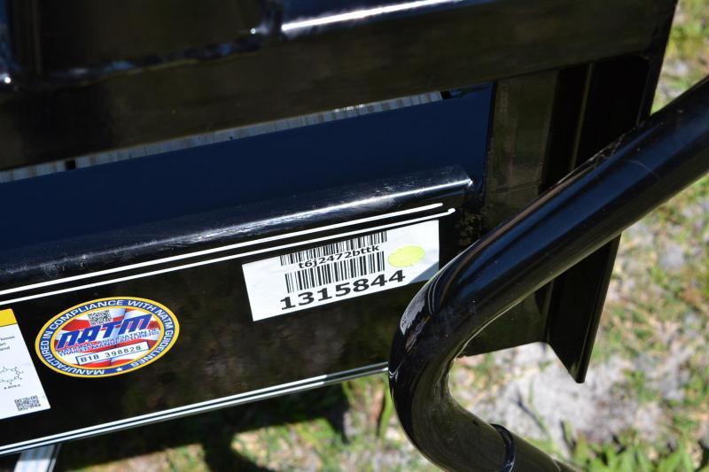 7x24 PJ Trailers   Tilt Deck   Car Hauler Trailer