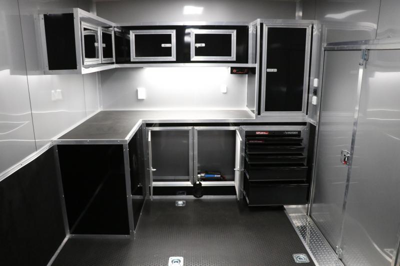 8.5x50 Living Quarters | Enclosed Racing Trailer