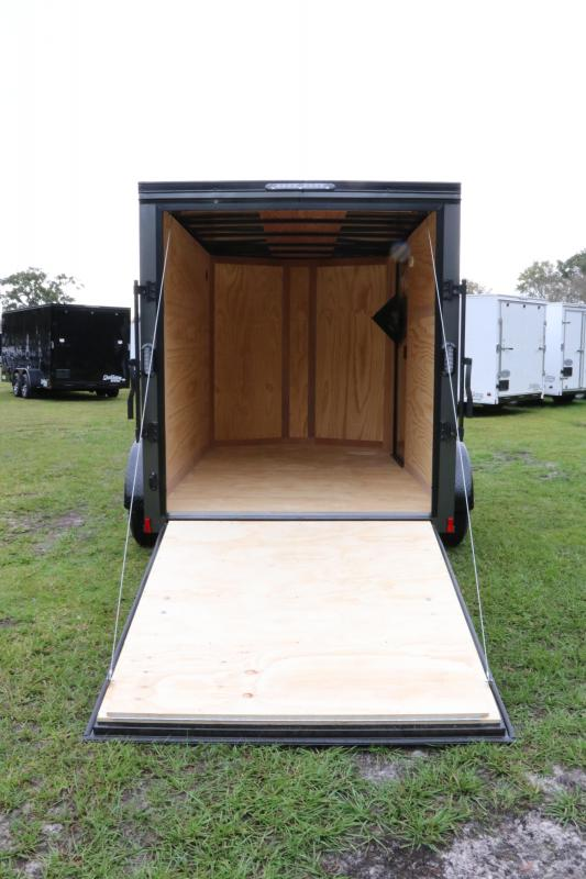 6x10 Continental Cargo | Enclosed Trailer ( With Black Out Kit )