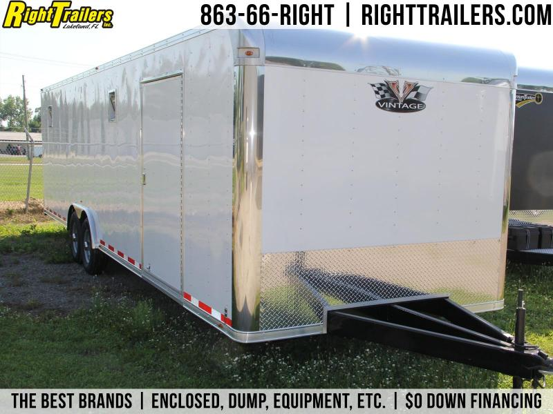 8.5x30 Vintage | Race Car Trailer