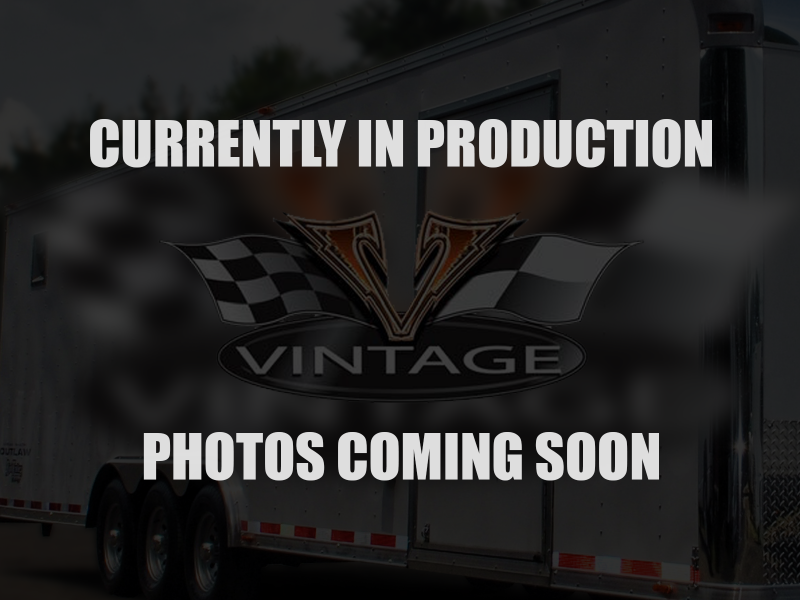 8.5x30 Vintage   Race Car Trailer