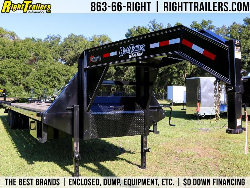 8.5 x 40 Nationwide Trailer | Full Tilt  Gooseneck Trailer