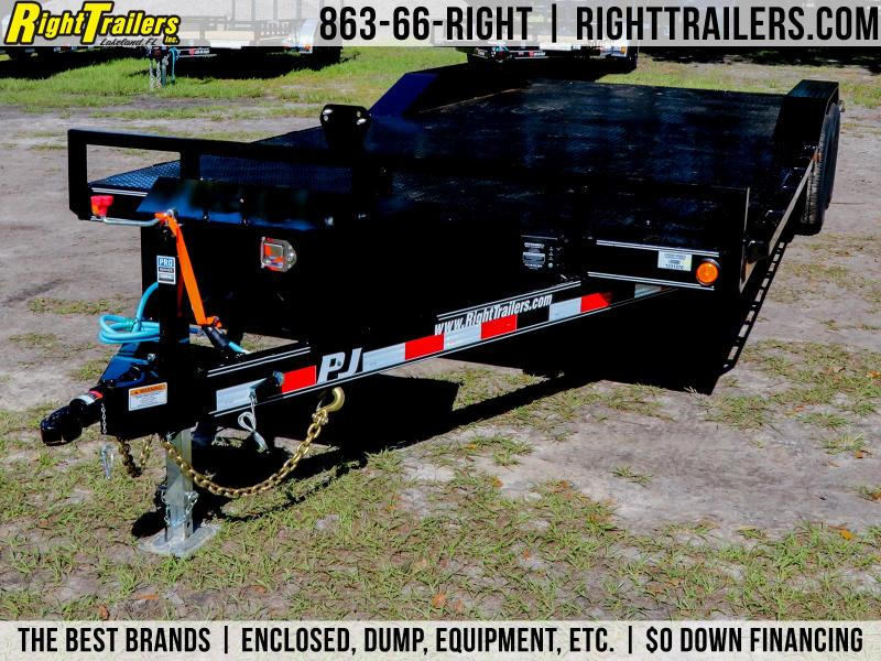 8.5x22 PJ Trailers Steel Bed | Equipment Trailer