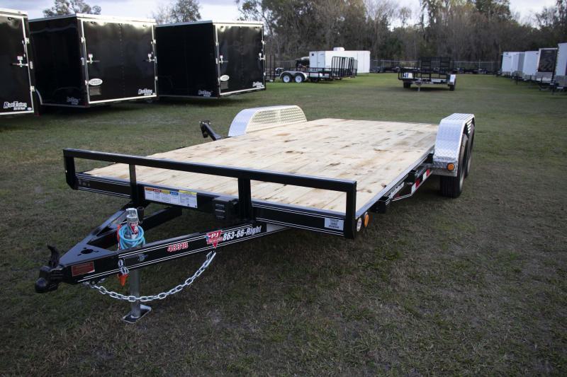 7x18 PJ Trailers I Car / Racing Trailer