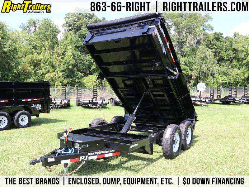 6x12 PJ   5 Ton D3 Dump Trailer