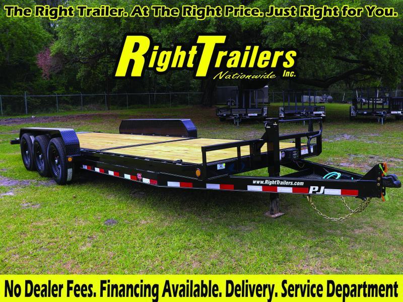 7x24 PJ Trailers   Tilt Deck Equipment Trailer