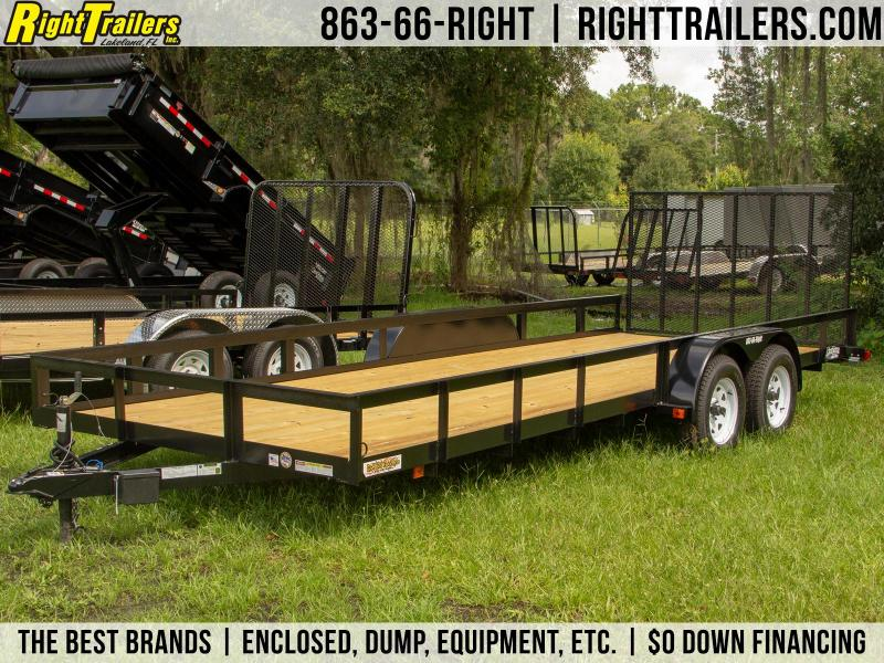 7x20 Red Hot Trailers | Utility Trailer