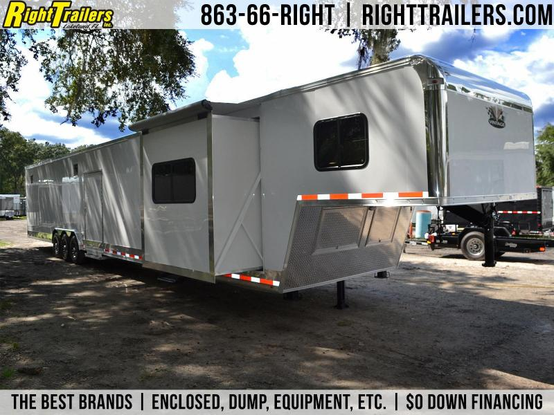 Vintage Trailers Intimidator Conversion Racing Trailer - Living Quarters Trailer