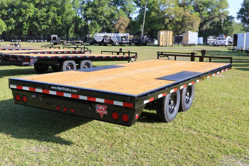 8.5X20 PJ Trailers DECKOVER Equipment Trailer