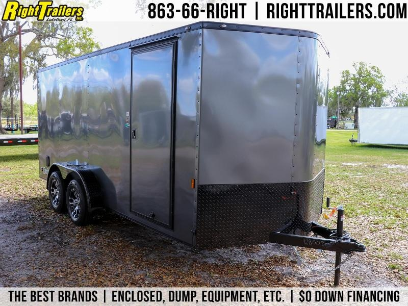 7X16 Continental Cargo| Enclosed Cargo Trailer