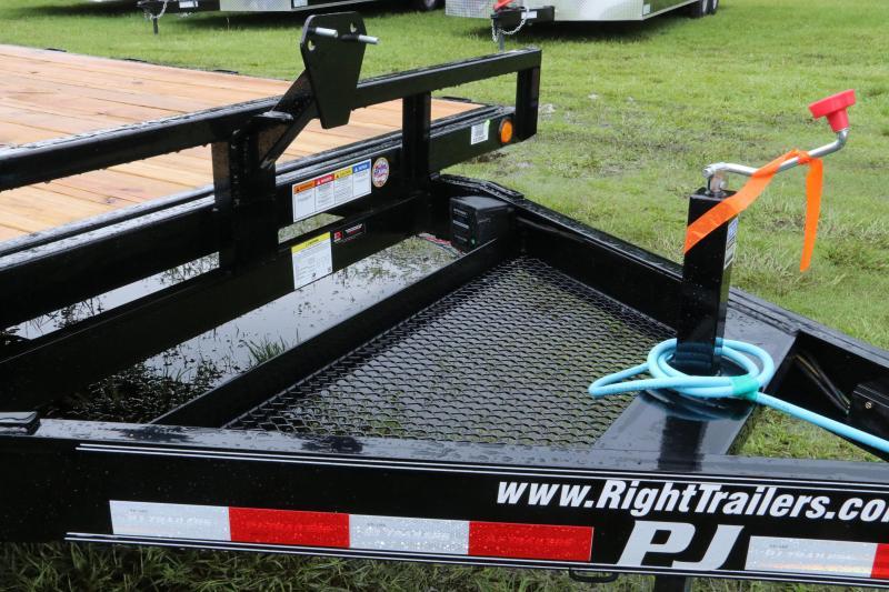 8x24 PJ   Equipment Trailer