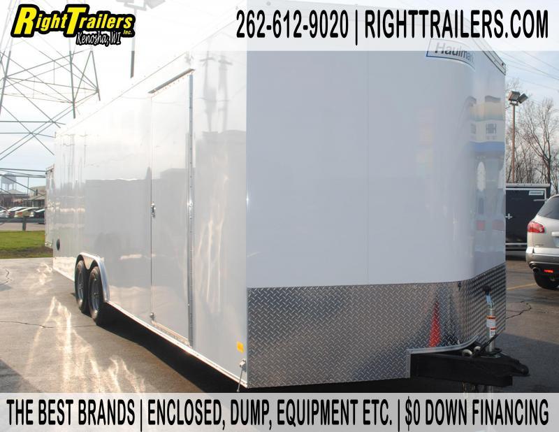 8.5x24 Haulmark   Enclosed Trailer