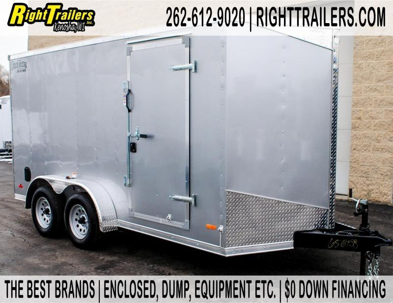 7 X 14 RC Trailer I Enclosed Cargo Trailer