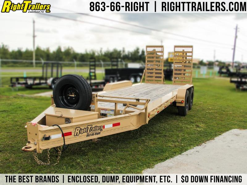 USED 7x20 PJ Trailers | Equipment Trailer