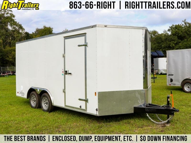 8.5x16 Continental Cargo | Enclosed Trailer