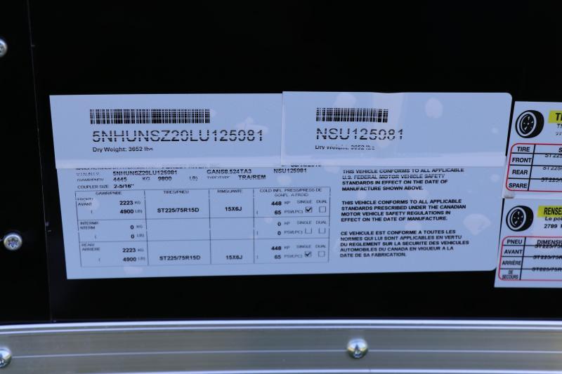 8.5 X 24 Continental Cargo I Enclosed Trailer