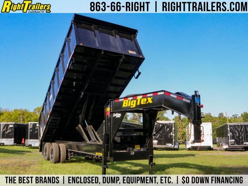 8x20X4 Big Tex Trailers | Deck Over Dump Trailer