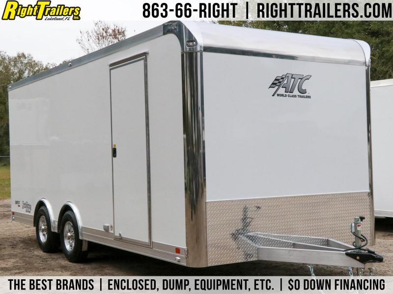 8.5x20 ATC | Enclosed Car Trailer / Racing Trailer